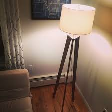 Pine Floor Lamp by Tripod Floor Lamp U2013 Joshua Tree Woodworks