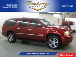 chevrolet suburban red chevrolet suburban 1500 in tomball tx parkway chevrolet