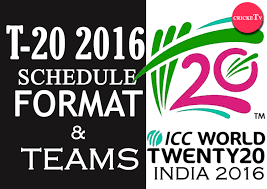Cricket World Cup Table Icc T 20 World Cup 2016 Schedule Venues Format And Teams India