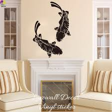 Wall Decal For Living Room Online Get Cheap Koi Wall Decal Aliexpress Com Alibaba Group