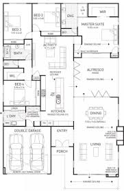 199 best house plans images on pinterest house floor plans an entertainers delight featuring large open plan living alfresco dining area high pitched roof and fireplace