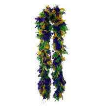 mardi gras feather boas mardi gras feather boa 6 60 grams one way novelties