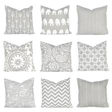 cushion covers for sofa pillows pillow cover gray pillow cover euro sham gray bedding