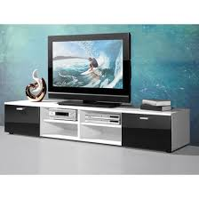 Corner Tv Cabinets For Flat Screens With Doors Contemporary Plasma Tv Stand In White With Gloss Doors In Black