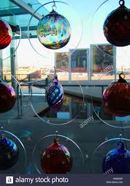 glass ornaments at the museum of glass gift shop in