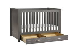 Convertible Crib Bed by Asher 3 In 1 Convertible Crib With Toddler Bed Conversion Kit