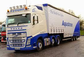 volvo transport volvo fh 6x2 v a transport aqutrans curtain box kr13vxd frank