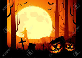 halloween photo background halloween themed background vector illustration stock photo