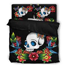 tattoo bedding queen tattoo skull bedding set skullgraveyard