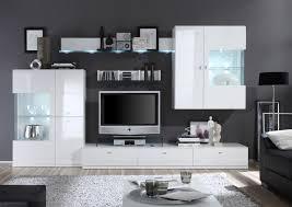 Schrankwand Wohnzimmer Modern Weisse Schrankwand Ansprechend Auf Wohnzimmer Ideen Oder Wohnwand