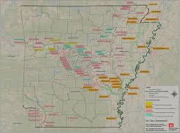 State Of Arkansas Map by Arkansas Levees