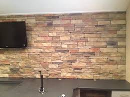 Stone On Walls Interior Best 25 Indoor Stone Wall Ideas On Pinterest Stacked Stone