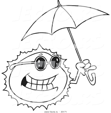 large umbrella coloring page coloring pages umbrella coloring page under alphabet pages free
