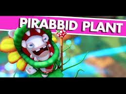 mario rabbids kingdom battle pirabbid plant gameplay e3 expo