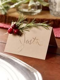 Diy Place Cards Top 10 Creative Diy Christmas Place Cards Place Card Wreaths