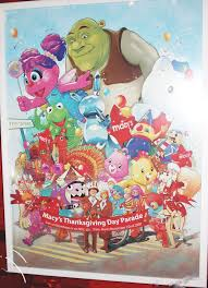 looking for macy s thanksgiving day parade poster astoria ny