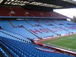 layout of villa park villa park the stadium guide