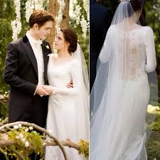swan s wedding dress get the look kristen stewart s breaking wedding dress