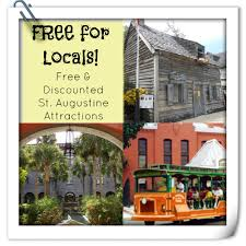 locals only free things to do in st augustine
