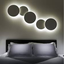 contemporary lighting ideas contemporary wall lights contemporary wall light methacrylate abs fluorescent puck