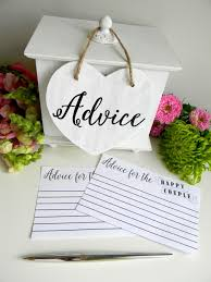 wedding advice card free advice card printable from justforkeeps