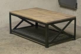 Table De Salon Industrielle by Table Basse Fait Maison Table Basse Fait Maison With Campagne