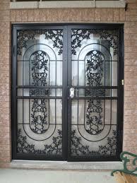 security screen doors for sliding glass doors metalex security screen storm doors youtube