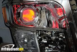 nissan titan fog lights 2017 2018 2019 nissan titan custom bixenon hid retrofit headlights