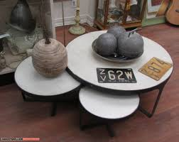 furniture coffee table with nesting stools and nesting coffee