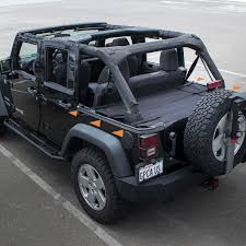 jeep bed plans pdf amazon com gpca wrangler cargo cover pro reversible for top on