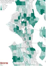 Seattle Link Map by Is Seattle Getting Richer Or Poorer Redfin