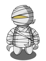 cute halloween mummy clip art free clipart images image wikiclipart