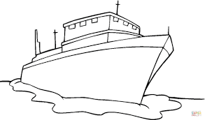 ship coloring page in coloring page omeletta me