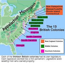 map of colonies rule