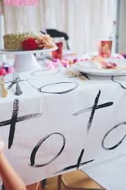 the diy tablecloth valentines diy dinners and holidays