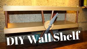 how to build a cool wall shelf youtube