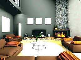 grey walls brown sofa blue living room brown sofa homesbycarranza com