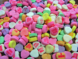day candy valentines day flowers cards hearts candy happy