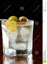 vodka martini with olives dirty vodka martini stock images image 33633124
