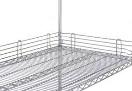 Metro Wire Shelving by Metro Wire Shelf Accessories 800 400 7500 Metro Plastic Sleeves