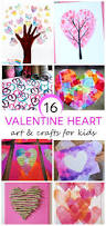 16 kids valentine heart craft ideas heart crafts crafty kids
