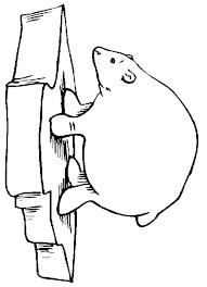 polar bear coloring sheets coloring