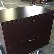 Espresso Lateral File Cabinet Advanced Liquidators Fairplex Collection 2 Drawer Lateral File