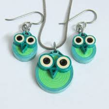 eco earrings 62 best quilling jewellery images on filigree paper