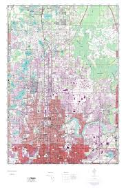 Elevation Map Of Florida by Mytopo Sulphur Springs Florida Usgs Quad Topo Map