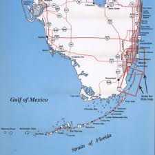 Zip Code Miami Map by Amazon Com Top Spot Map N211 Miami Area Fishing Equipment