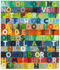 all or nothing mel bochner b 1940 christie u0027s all or nothing