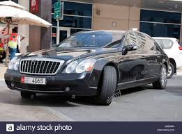 bentley maybach black daimler ag maybach 62s luxury motor car stock photo royalty