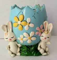 Vintage Easter Decorations Home by 3077 Best Vintage Easter Goodies Images On Pinterest Vintage