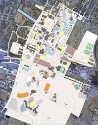 Richmond Ky Map Campus Map Eastern Kentucky University
